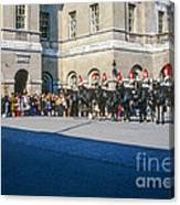 Changing Of The Horse Guard  Canvas Print
