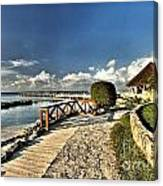 Chankanaab Walkway Canvas Print