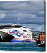 Channel Islands Ferry Canvas Print