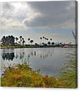 Channel View Canvas Print