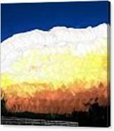 Chaparra Supercell At Sunset Canvas Print