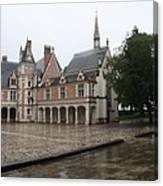 Chapel And Courtyard Chateau Blois Canvas Print