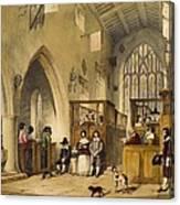 Chapel At Haddon Hall, Derbyshire Canvas Print