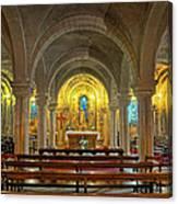 Chapel At Notre Dame Cathedral Verdun Canvas Print