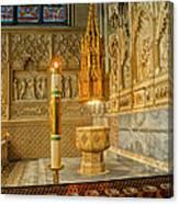 Chapel At Saint Patricks Cathedral Canvas Print