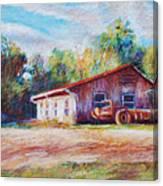 Chapel Hill Creamery Barn Canvas Print