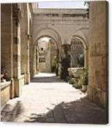Chapel Of Condemnation Jerusalem Canvas Print