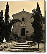 Chapel Of San Amasio Canvas Print