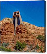 Chapel Of The Holy Cross Sedona Az Front Canvas Print