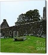 Chapel Ruins At Dunvegan Canvas Print