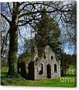 Chapel Ruins Canvas Print