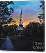 Chapel Sunset Canvas Print