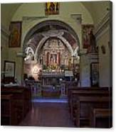 Chappel At Sirmione. Lago Di Garda Canvas Print