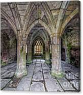 Chapter House Interior Canvas Print