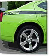 Charger Daytona Canvas Print