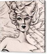 Charice Doll Canvas Print