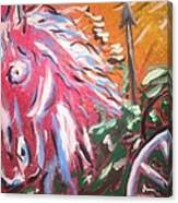 Chariot Canvas Print