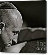 Charismatic Faces -  Bass Player - Roman . Canvas Print