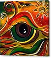 Charismatic Spirit Eye Canvas Print