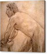 Charity Figure Drawing 2 Canvas Print