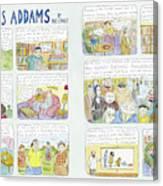 Charles Addams Canvas Print