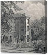 Charles Darwin's Home At Downe, Kent - Canvas Print