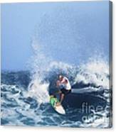 Charles Martin Pro Surfer In Hawaii Canvas Print