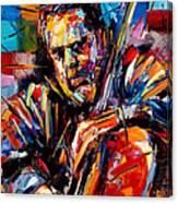Charles Mingus Canvas Print