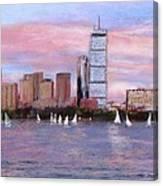 Charles River Boston Canvas Print