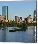 Charles River Reflection Canvas Print