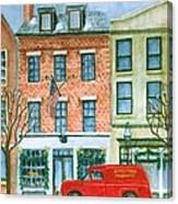 Charles Street Hardware Canvas Print