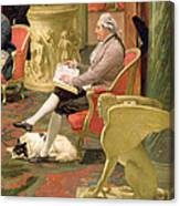 Charles Townley And His Friends Canvas Print
