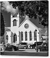 Charles W Drees Methodist Church Canvas Print