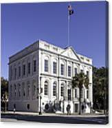 Charleston City Hall Canvas Print
