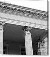 Charleston Columns Canvas Print