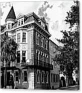 Charleston Corner Charleston Sc Canvas Print