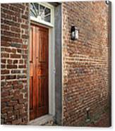 Charleston Door Canvas Print