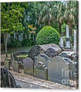 Charleston Graveyard Canvas Print