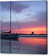 Charleston Harbor Canvas Print