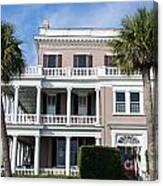 Charleston Home Canvas Print