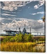 Charleston Marsh View Canvas Print