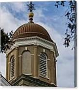 Charleston Round Dome Canvas Print