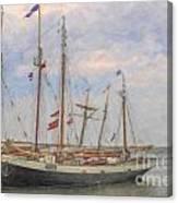 Charleston Ships Canvas Print