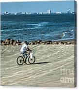 Charleston Surf Fishing Canvas Print
