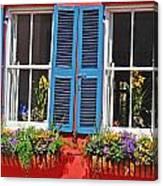 Charleston Windows Canvas Print