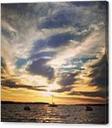 Charlevoix Sunset Canvas Print