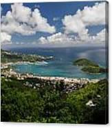 Charlotte Amalie Harbor Canvas Print