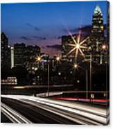 Charlotte Flow Canvas Print