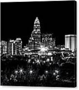 Charlotte Night Canvas Print
