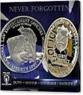 Charlotte Police Memorial Canvas Print